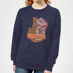 Scooby Doo Munchies Women's Sweatshirt - Navy