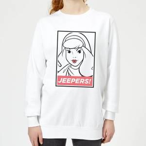 Scooby Doo Jeepers! Women's Sweatshirt - White