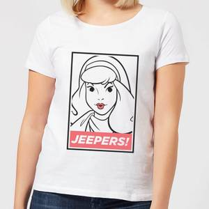 Scooby Doo Jeepers! Women's T-Shirt - White