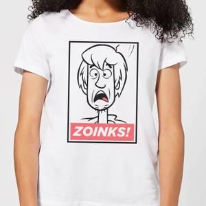 Scooby Doo Zoinks! Women's T-Shirt - White