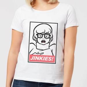 Scooby Doo Jinkies! Women's T-Shirt - White