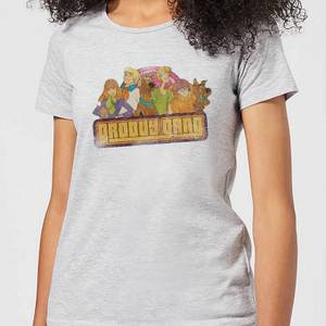 Scooby Doo Groovy Gang Women's T-Shirt - Grey