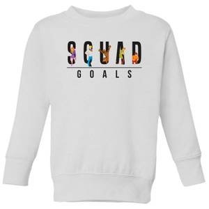 Scooby Doo Squad Goals Kids' Sweatshirt - White