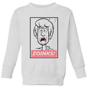 Scooby Doo Zoinks! Kids' Sweatshirt - White