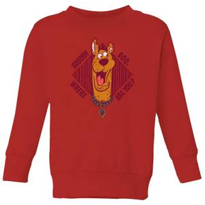 Scooby Doo Where Are You? Kids' Sweatshirt - Red