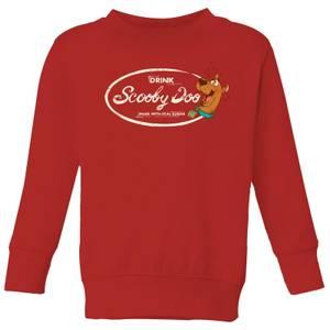 Scooby Doo Cola Kids' Sweatshirt - Red