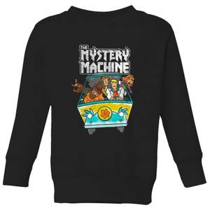 Scooby Doo Mystery Machine Heavy Metal Kids' Sweatshirt - Black