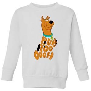 Scooby Doo RUHROOOOOH Kids' Sweatshirt - White