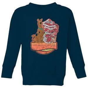 Scooby Doo Munchies Kids' Sweatshirt - Navy