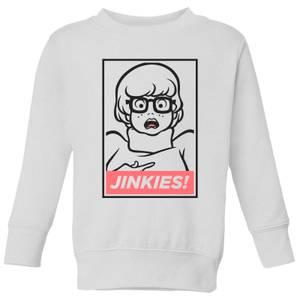 Scooby Doo Jinkies! Kids' Sweatshirt - White