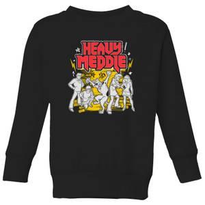Scooby Doo Heavy Meddle Kids' Sweatshirt - Black