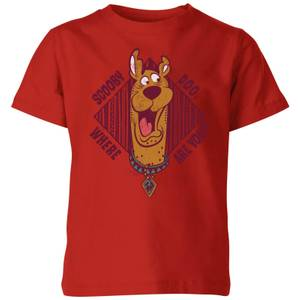 Scooby Doo Where Are You? Kids' T-Shirt - Red