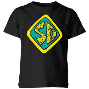 Scooby Doo Emblem Kids' T-Shirt - Black