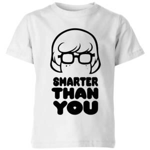 Scooby Doo Smarter Than You Kids' T-Shirt - White
