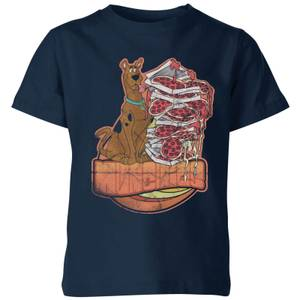Scooby Doo Munchies Kids' T-Shirt - Navy