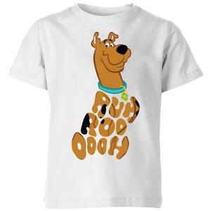 Scooby Doo RUHROOOOOH Kids' T-Shirt - White