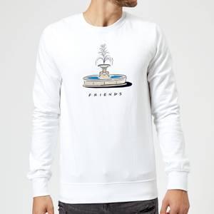 Friends Fountain Sweatshirt - White