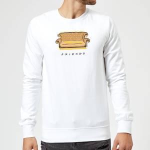 Friends Couch Sweatshirt - White