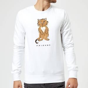 Friends Smelly Cat Sweatshirt - White