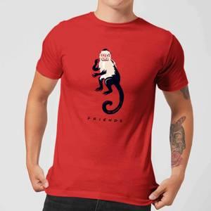 Friends Marcel The Monkey Men's T-Shirt - Red