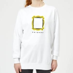 Friends Frame Women's Sweatshirt - White