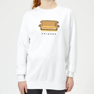 Friends Couch Women's Sweatshirt - White