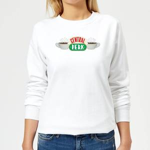 Friends Central Perk Women's Sweatshirt - White