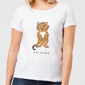 Friends Smelly Cat Women's T-Shirt - White