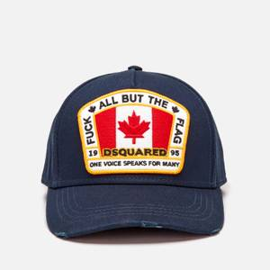 Dsquared2 Men's Canada Flag Patch Cap - Navy