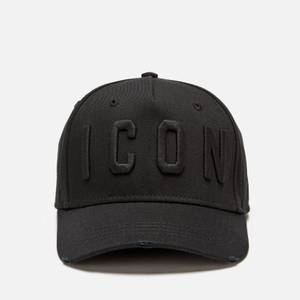 Dsquared2 Men's Icon Embroidered Cap - Black