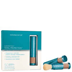 Colorescience Sunforgettable Total Protection Brush on 3 Piece Shield Set - Deep 18g (Worth $195.00)