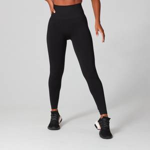 MP Women's Shape Seamless Ultra Leggings -leggingsit - Musta