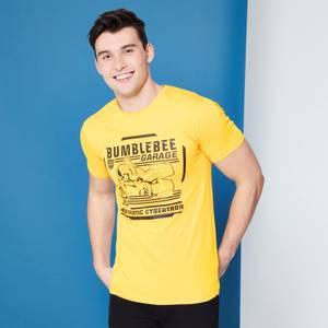 Transformers Bumblebee Garage T-Shirt - Yellow
