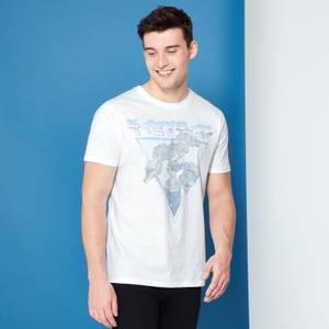 Transformers Megatron Retro Japanese T-Shirt - White