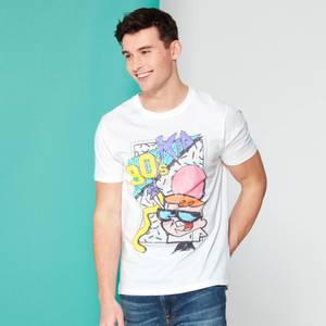 Cartoon Network Spin Off T-Shirt Dexter's Laboratory 90's Kid - Blanc