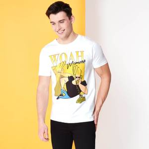 Cartoon Network Spin Off T-Shirt Johnny Bravo 90's Photoshoot - Blanc