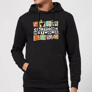 Cartoon Network Logo Characters Hoodie - Black
