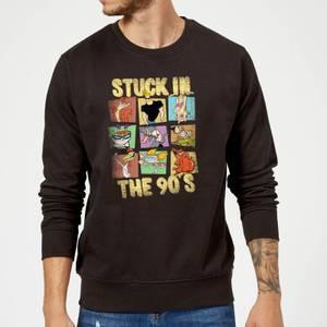 Cartoon Network Stuck In The 90s Sweatshirt - Black