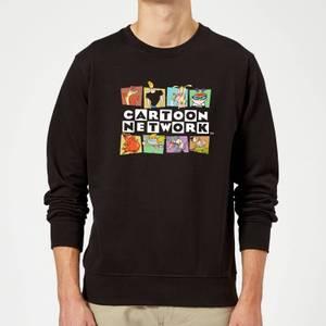 Cartoon Network Logo Characters Sweatshirt - Black