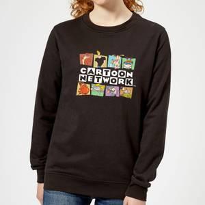Cartoon Network Logo Characters Women's Sweatshirt - Black