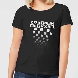 Cartoon Network Logo Fade Women's T-Shirt - Black