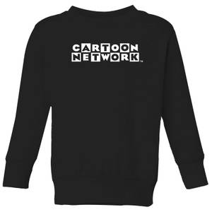 Cartoon Network Logo Kinder Sweatshirt - Schwarz