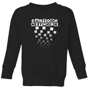 Cartoon Network Logo Fade Kids' Sweatshirt - Black