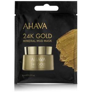 AHAVA Single Use 24K Gold Mineral Mud Mask 6ml