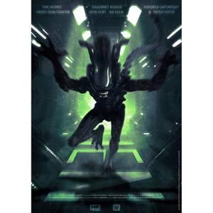 Aliens (Run) Print
