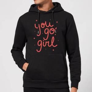 You Go Girl Hoodie - Black