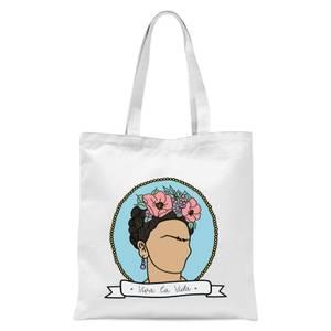 Viva La Vida Tote Bag - White