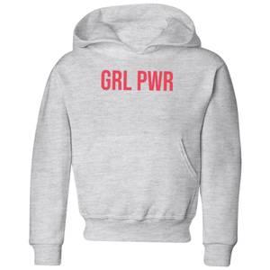 GRL PWR Kids' Hoodie - Grey