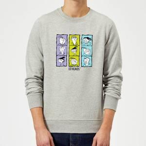 Ed, Edd n Eddy Heads Sweatshirt - Grey