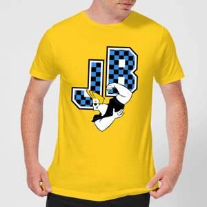 Johnny Bravo JB Varsity Men's T-Shirt - Yellow